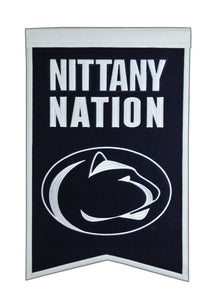 "Penn State Nittany Lions Nations Banner - 14""x22"""