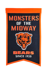 "Chicago Bears Franchise Banner - 14""x22"""