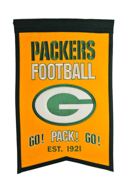 Green Bay Packers Franchise Banner - 14