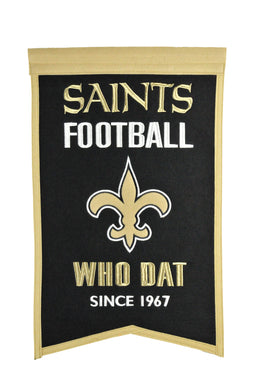 New Orleans Saints Franchise Banner - 14