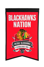 "Chicago Blackhawks Nations Wool Banner - 14""x22"""