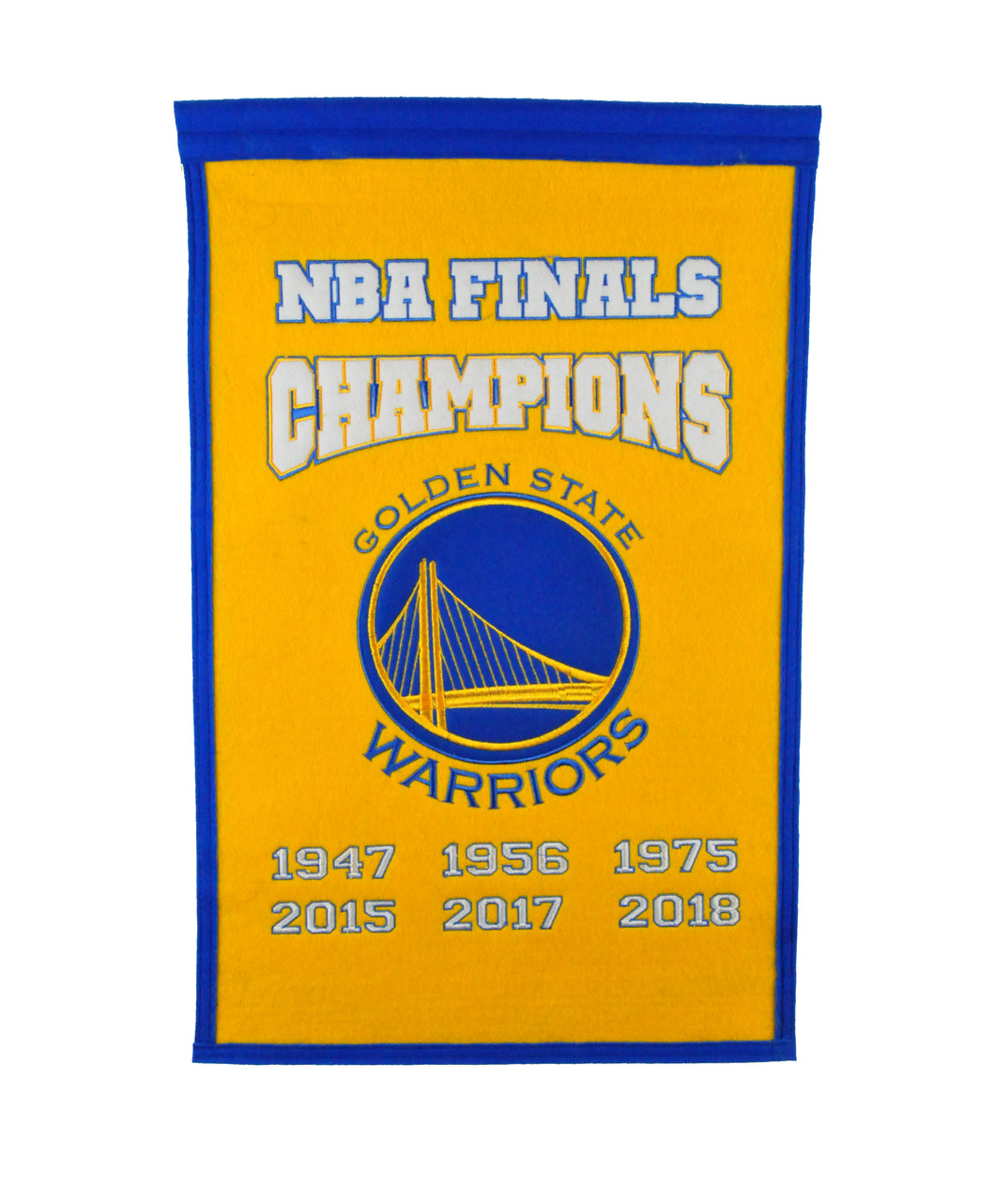 Golden State Warriors Champions Wool Banner - 14