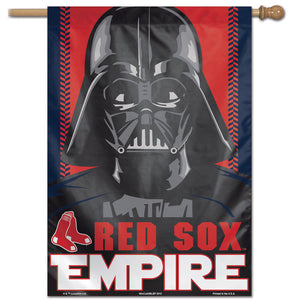 "Boston Red Sox Star Wars Darth Vader Vertical Flag - 28""x40"""