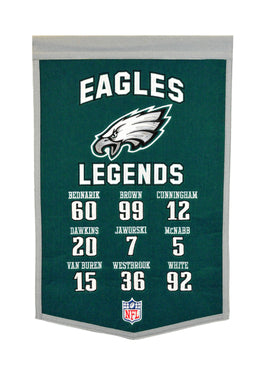 Philadelphia Eagles Legends Banner - 14