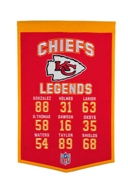 Kansas City Chiefs Legends Banner - 14