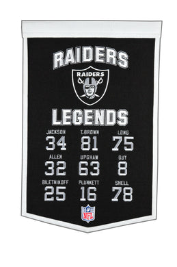 Oakland Raiders Legends Banner - 14