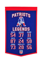 "New England Patriots Legends Banner - 14""x22"""