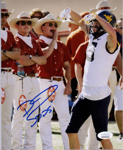 david sills west virginia mountaineers autograph