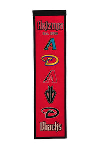 "Arizona Diamondbacks Heritage Banner - 8""x32"""