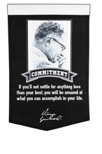 "green bay packers, vince Lombardi Collection Excellence Banner Banner - 15""x24"""