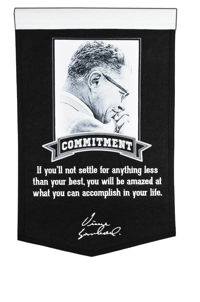 green bay packers, vince Lombardi Collection Excellence Banner Banner - 15