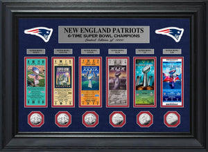 new england patriots 6 time super bowl champions