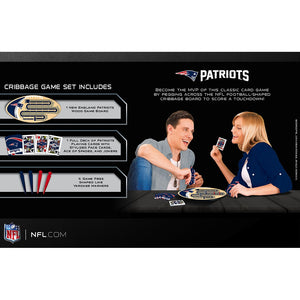 New England Patriots Cribbage Game