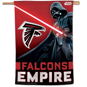 "Atlanta Falcons Star Wars Darth Vader Vertical Flag - 28""x40"""