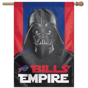 "Buffalo Bills Star Wars Darth Vader Vertical Flag - 28""x40"""