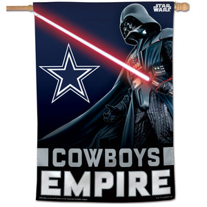 "Dallas Cowboys Darth Vader Vertical Flag - 28""x40"""