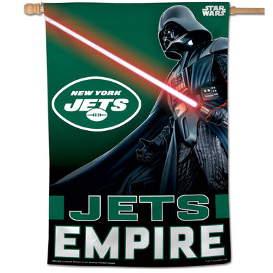 New York Jets Darth Vader Vertical Flag - 28