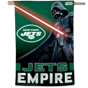 "New York Jets Darth Vader Vertical Flag - 28""x40"""