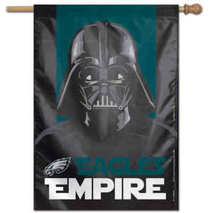 "Philadelphia Eagles Darth Vader Vertical Flag - 28""x40"""
