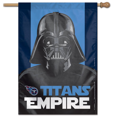 Tennessee Titans Darth Vader Vertical Flag - 28