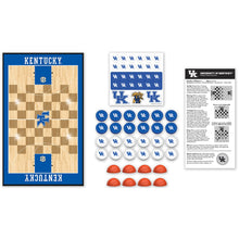 Kentucky Wildcats Basketball Checkers