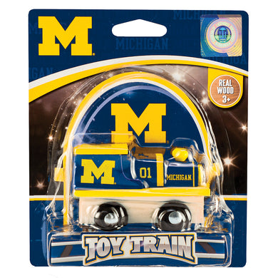 Michigan Wolverines Toy Train
