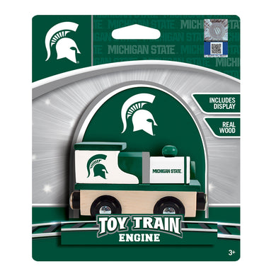 Michigan State Spartans Wood Toy Train