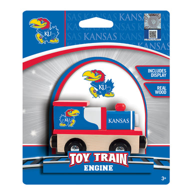 Kansas Jayhawks Toy Train