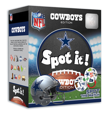 dallas cowboy spot it game
