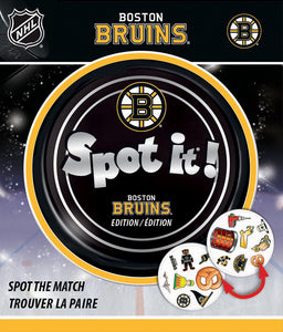 Boston Bruin Spot It Game