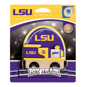 LSU Tigers Toy Train