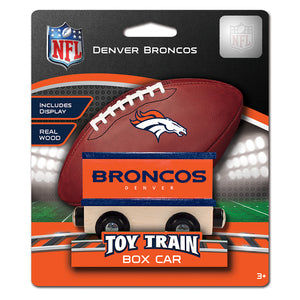 Denver Broncos Toy Train