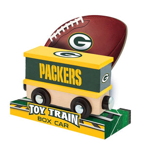 Green Bay Packers Toy Train