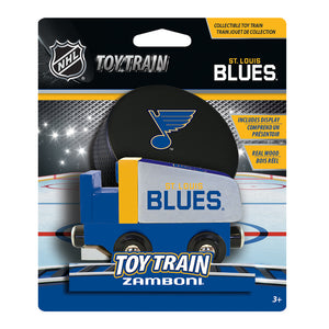St Louis Blues Zamboni Toy Train