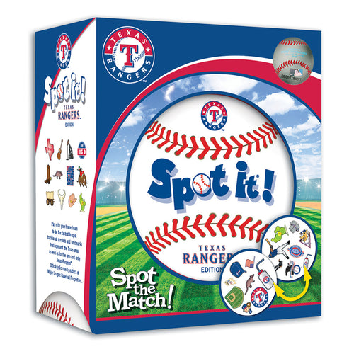 Texas Rangers Spot It! Game