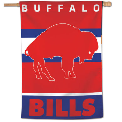Buffalo Bills Retro Vertical Flag - 28