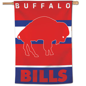 "Buffalo Bills Retro Vertical Flag - 28""x40"""