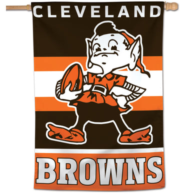 Cleveland Browns Retro Vertical Flag - 28