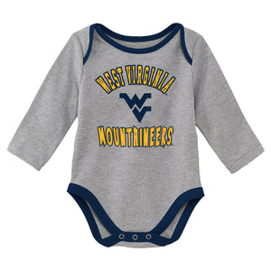 West Virginia Mountaineer Gray Onsie