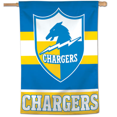 Los Angeles Chargers Retro Vertical Flag - 28