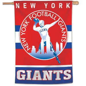 "New York Giants Retro Vertical Flag - 28""x40"""