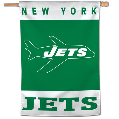 New York Jets Retro Vertical Flag - 28