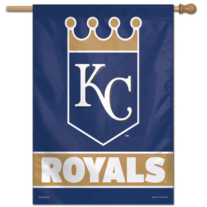 "Kansas City Royals Wordmark Vertical Flag - 28""x40"""