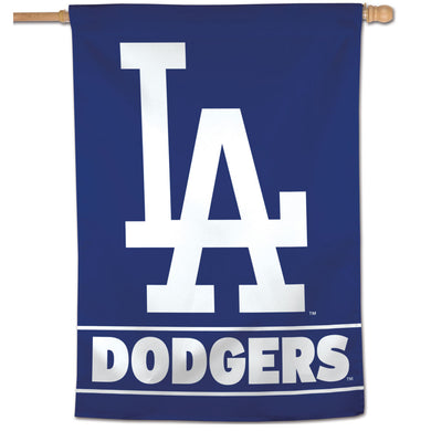 Los Angeles Dodgers Wordmark Vertical Flag - 28