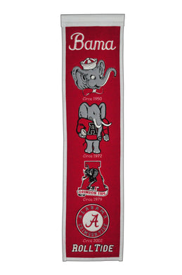 NCAA fan gear Alabama Crimson 8