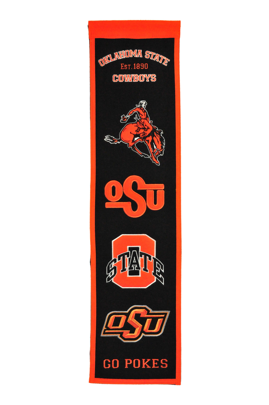 Oklahoma State Cowboys Heritage Banner - 8