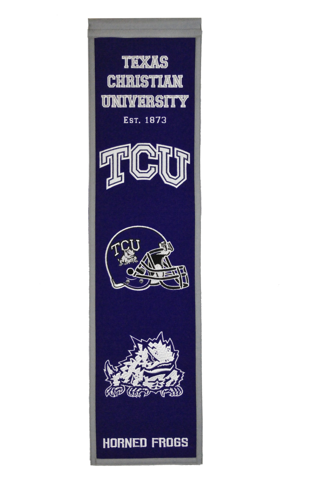 TCU Horned Frogs Heritage Banner - 8
