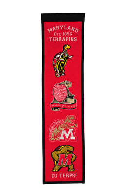 Maryland Terapins Heritage Banner - 8