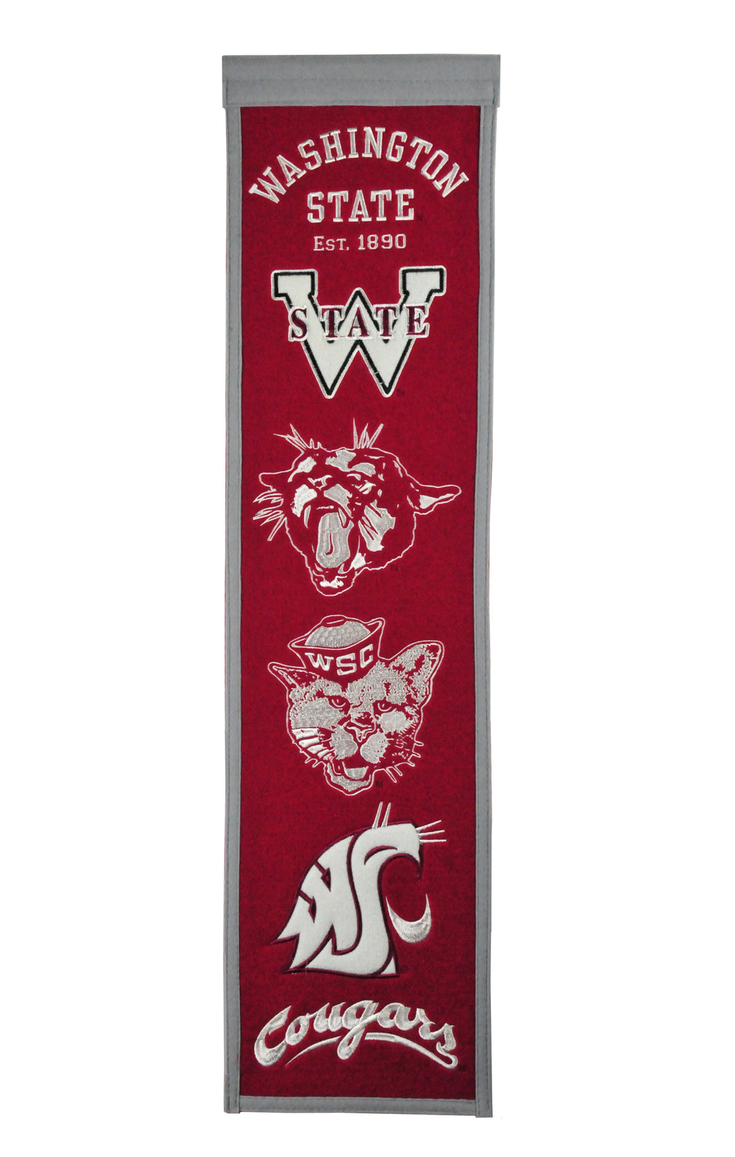 Washington State Cougars Heritage Banner - 8