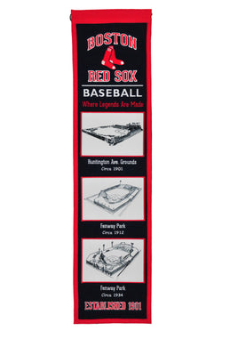 boston red sox stadium heritage banner